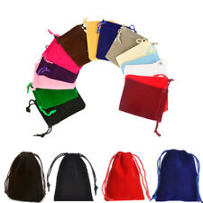 Beauty Drawstring Small Velvet Dice Storage Pouch Bag Gift Bag Jewelry Pouch