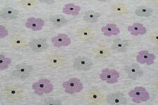 20,90€/m Stoffe Jersey UV Lichteffekt Farbwechsel Blumen Punkte