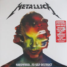 METALLICA - Hardwired To Self-Destruct 2 x LP RED VINYL INDIE EXCLUSIVE 180 Gram