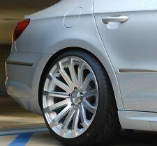 19X8.5 MRR HR9 WHEELS 5X112 +35 SILVER RIMS FITS VW PASSAT CC SET OF (4)