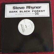 "Schallplatte Vinyl Maxi-Single Steve Rhyner ""Dark Black Forest"""