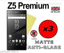 3x HQ MATTE ANTI GLARE SCREEN PROTECTOR COVER FILM GUARD SONY XPERIA Z5 PREMIUM