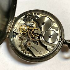 NICE FIND 49MM NEW ENGLAND CHRONOGRAPH POCKET WATCH (C40)
