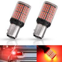 Bombillas LED Freno/Posicion Canbus BAY15D (1157) P21/5W 144smd Rojo o Blanco