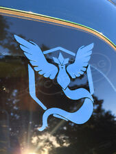 Team Mystic STICKER VINYL DECAL VALOR INSTINCT PIKACHU GO JIGGLYPUFF CHANSEY