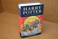1st ED 1st PRINT HARDBACK BOOK 7 HARRY POTTER & THE DEATHLY HALLOWS J.K ROWLING