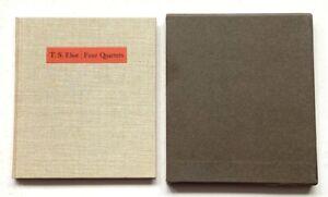 FOUR QUARTETS by T.S. ELIOT - THE FOLIO SOCIETY, 1968