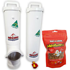 DINE-A-CHOOK Chicken Feeder & Drinker Set / Chook Waterer / Poultry Coop