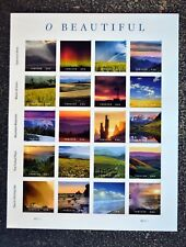 2018USA #5298 Forever - O Beautiful - Sheet of 20  Mint