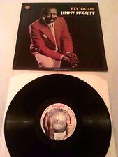 JIMMY MCGRIFF - FLY DUDE LP EX!!! ORIGINAL UK PEOPLE PLEO14 JAZZ FUNK