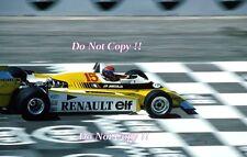 Jean-Pierre Jabouille Renault RE20 French Grand Prix 1980 Photograph