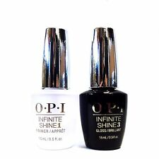 OPI Nail Polish INFINITE SHINE Base Coat + Top Coat 5oz/15mL ~2ct ~ @@ SALE @@