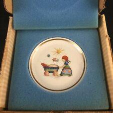 Vtg Miniature Collector Plate Berta Hummel Museum Afternoon Stroll Schmid 1977