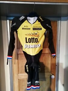 Lotto Jumbo Long Sleeved Speedsuit/Skinsuit Shimano (S-Phyre) Size L