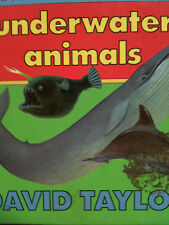 Underwater Animals by David Taylor children's book