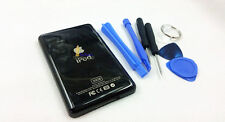 metal black color back housing case shell part for ipod 5th video 30gb