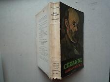 1949 CEZANNE CORRESPONDANCE DE JOHN REWALD 50 REPRODUCTIONS HELIOGRAVURE