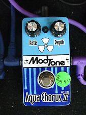 Modtone Aqua Chorus II Pedal-Effect for Guitar-New-WOW!