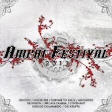 AMPHI Festival 2011 Compilation-CD hocico, suicide commando, STAUBKIND