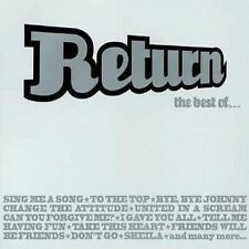 RETURN - THE BEST OF... (CD, 2000, Sony Music Norway) 19 Tr. Like New Very Rare!