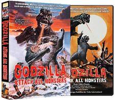 "Godzilla - Attack all Monsters ""Godzillas Revenge""- Limited Edition DVD NEU OVP"