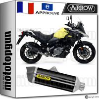 ARROW POT D'ECHAPPEMENT RACE-TECH NOIR CARBY SUZUKI V-STROM 650 2017 17 2018 18