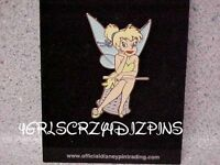 Disney Pin DLR Tinker Bell  Sitting on a Thimble  New never traded