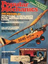 4 MONTHS OF 1984 POPULAR MECHANICS MAGAZINE JAN, FEB, MAR, AND APR (O7-6)