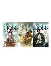 Robin Hobb Farseer Trilogy 3 Book Collection Set Fantasy Fiction Assassin Series