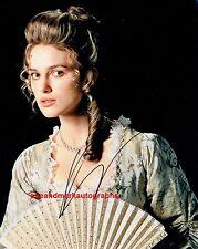 Kiera Knightley Elizabeth Swan Pirates Of The Caribbean Autograph UACC RD 96