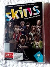 SKINS- COMPLETE THIRD SERIES (DVD, 3-DISC) R-ALL, LIKE NEW, FREE POST AUS-WIDE