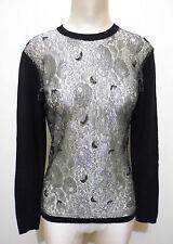 PANCALDI Maglia Maglione Donna Lana Cashmere Wool Woman Sweater Sz.M - 44