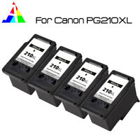4 PACK PG-210XL Black Ink for Canon PIXMA iP2700 iP2702 MX320 MX330 MX340 MX350