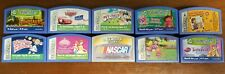 Lot of 10 Leapfrog Leapster Cartridge Games Learning Educational   A