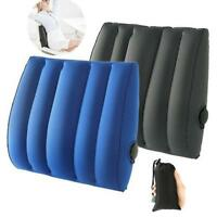 Lumbar Pain Relief Back Support Travel Car&Office Use Inflatable Cushion Pillow