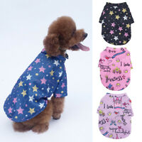 Cute Small Dog Coat Winter Warm Pet Clothes for Chihuahua Sweatshirt Puppy Cat