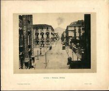 Stampa fine 800 31x26 Catania Strada Etnea
