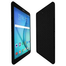 "Skinomi Black Carbon Fiber Skin+Screen Protector For Samsung Galaxy Tab S3 9.7"""