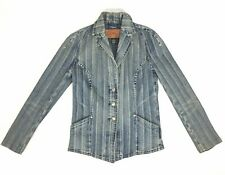 Sergio Valente Denim Jean Jacket - Women's Size S - Made In Hong Kong