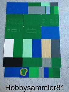 Lego Platten Grundplatten Grundplatte 8x16 8x24 10x16 16x16 16x32 24x32 24x40