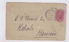1890 Honolulu Hawaii  to Dr. Bond, Kohala Hawaii