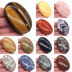 "2.3"" Worry Palm Stone Pocket Meditation Energy Crystal Healing Reiki Gemstone"