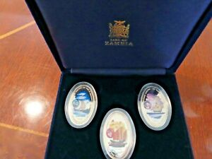 2000 Zambia Silver coin set 1000 Years of Exploration