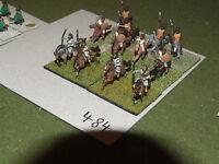 15mm roman era / numidian - 12 Cavalry - cav (484)