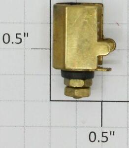 Ives 3251-1T Standard Gauge Brass Tapered Strap Type Headlight Lamp Socket