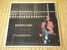 """LISA STANSFIELD - LIVE TOGETHER    7"""" VINYL PS"""