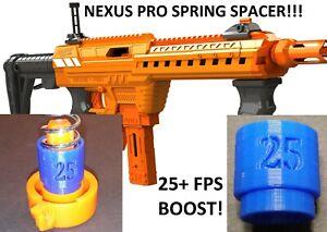 Spring Spacer For Adventure Force Nexus Pro Blaster 25+FPS Power Boost! Dart Gun