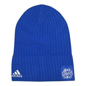 Olympique de Marseille MLS Adidas Beanie Knit, One Size, blue