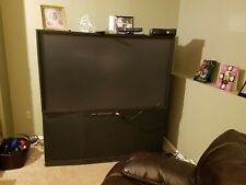 "Mitsubishi WS-65807 65""  HD Rear-Projection Television, excellent condition."