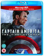 Captain America - The First Avenger 3D+2D BLU-RAY NUOVO Blu-Ray (buy0212501)